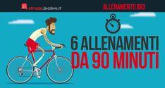 Allenamenti brevi in bici: cadenza pedalata, fondo medio/veloce, soglia…