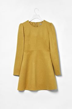 cos structured wool dress.