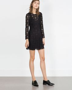 LACE DRESS-Going Out-WOMAN | ZARA United States