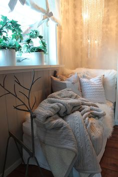 Lindevegen...  Sunny window and warm blankets
