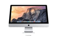 (OCTOBER 2015 UPDATE) iMac - 21.5 Inch (Now 1.6 or 2.8 GHz - Turbo Boost from 2.7 GHz or  3.3GHz, 8GB of onboard memory, 1TB hard drive, Intel Iris Pro Graphics 6200 & 1920-by-1080 sRGB display).