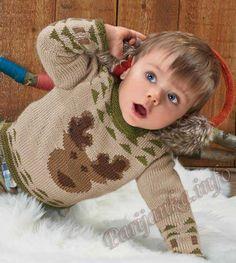 Пуловер с жаккардом (д) 936 Creations 14/15 Bergere de France №4329