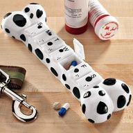 Such a cute idea for clients who get confused about medication dosing for their pets!