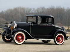 1930 Ford Model-A 5-window Coupe