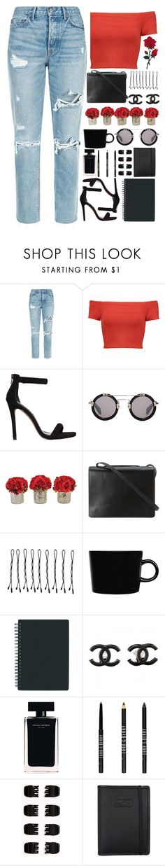 """""""3 - Don't be his friend, you know you're gonna wake up in his bed in the morning."""" by annaclaraalvez ❤ liked on Polyvore featuring GRLFRND, Alice + Olivia, Steve Madden, Yohji Yamamoto, The French Bee, BCBGMAXAZRIA, BOBBY, iittala, Chanel and Narciso Rodriguez"""