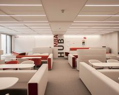Openspace MBA Rest zone - IESE university Lighting Design, Lab, University, Rest, Interior Design, Studio, Architecture, Health, Furniture