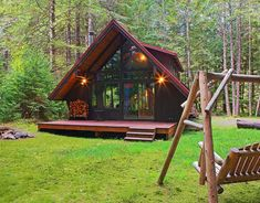 """""""Say hello to the first stop on our spring travel bucket list #springiscoming #readyforspring #cabin"""""""