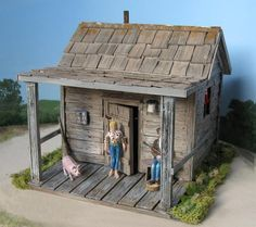 Beverly Hillbillies cabin