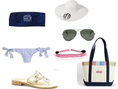"""Spring Break"" by southern-prep ❤ liked on Polyvore"