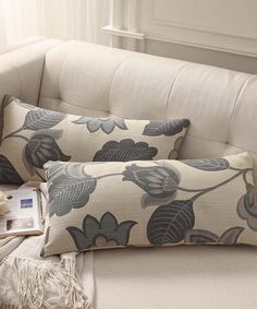 Love this Desmond Kidney Pillow - Set of Two by HomeBelle on #zulily! #zulilyfinds