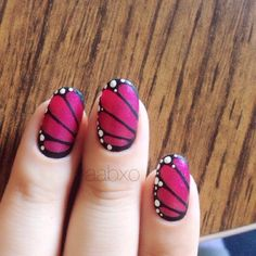 Vingle - Butterfly Nails!~ - Nails~