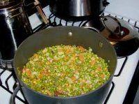 SPEK-EN-ERTJIES Afrikaans, Fried Rice, Fries, Side Dishes, Vegetables, Ethnic Recipes, Food, Essen, Vegetable Recipes