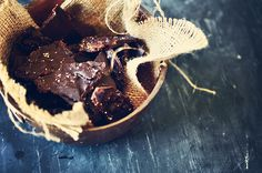 """Previous pinner: """"Dark Chocolate Bark with Candied Maple Bacon and Sea Salt from Guilty Kitchen"""""""