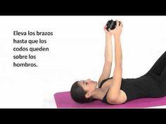 Ejercicio para adelgazar los brazos - YouTube