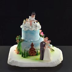 The heavenly couple - Cake by Neli