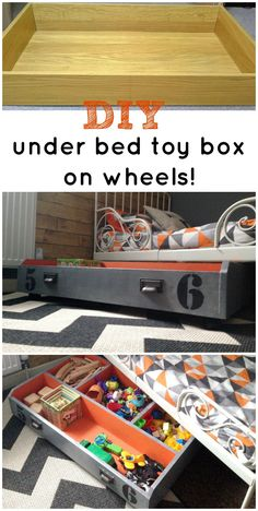 IKEA PAX DRAWER TO UNDER BED TOY STORAGE ON WHEELS! | Grillo Designs
