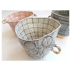 Heading out soon! #porcelain #surfacedesign #gold #blackandwhiteandredallover
