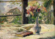Paul Gauguin - Vase of Flowers