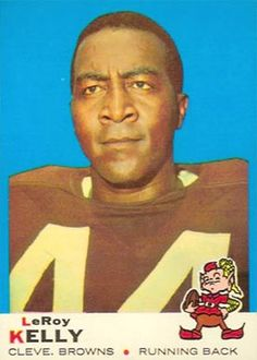 For sale 1969 topps football card 1 leroy kelly cleveland browns nfl hall of fame emorys memories. Football Memes, Nfl Football, Football Players, Nfl 49ers, Cleveland Team, Cleveland Browns Football, Cleveland Rocks, Nfl Hall Of Fame, Football Hall Of Fame