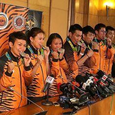 Selamat pulang ke tanahair Team Olimpiks Malaysia #RioOlympics2016 #tanahtumpahdarahku #proudtobeMalaysian