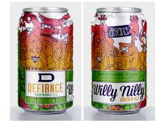 Defiance Cans