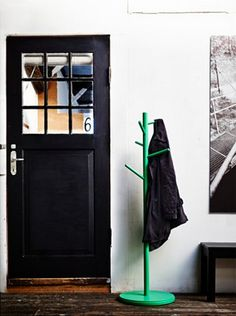 The 11 Best Buys From IKEA's 2015 Catalog: IKEA PS 2014 hat and coat stand in green, $30. (for office)