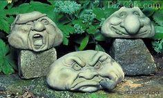 Фигуры для сада из гипса своими руками