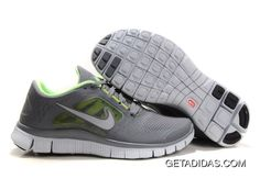 sports shoes 6eb17 f974a More and More Cheap Shoes Sale Online,Welcome To Buy New Shoes 2013 Womens  Nike Free Run 3 Cool Grey Reflect Silver Liquid Lime Pure Platinum Shoes   New ...