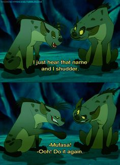 I do this every time someone says his name