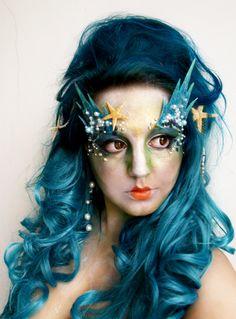 Mermaid makeup http://www.makeupbee.com/look.php?look_id=65296