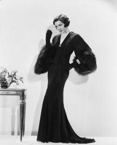 Claudette Colbert 1920s style icon