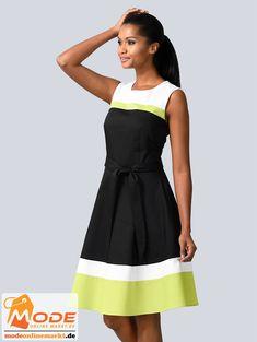 Kleid im modischen Colour Blocking Mit figurbetontem Oberteil schwingendem Rockteil Breite BH fre liche Träger... #BAUR #AlbaModa #Rabatt #20 #Marke #Alba #Moda #Farbe #schwarz #Material #Baumwolle #Elasthan #Polyester #Wolle #Onlineshop #BAUR #Damen #Bekleidung #Damenmode #Freizeitkleider #Kleider #Sale | sportliche Outfits, Sport Outfit | #mode #modeonlinemarkt #mode_online #girlsfashion #womensfashion Alba Moda, Sport Outfit, Mode Online, Trends, Summer Dresses, Report, Vermont, Fashion, Vestidos