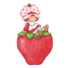 Strawberry Shortcake and Giant Strawberry Wall Graphics
