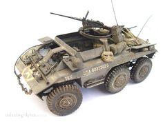 missing-lynx.com - Gallery - M20 scoutcar Plastic Model Kits, Plastic Models, Us Armor, Armored Vehicles, Armored Car, Armored Fighting Vehicle, Military Modelling, Military Photos, War Machine