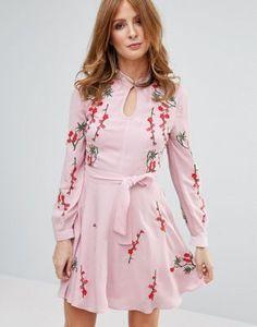 Millie Mackintosh Pink Embroidred Dress
