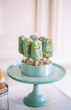 Pastel Ice Cream Themed Birthday Party - Inspired By This