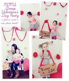 cute play date back drop idea The Busy Budgeting Mama: My Girls' Super Hero Lollipop Valentines