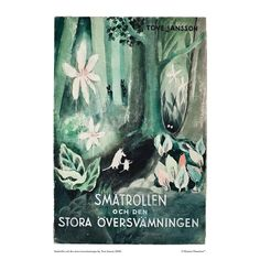 The Moomins and the Great Flood: The #book was the first #Moomin book published by #ToveJansson and it was originally published in 1945 in Swedish. Available exclusively from shop.moomin.com in two sizes: 70 x 50 cm and 100 x 70 cm. The price of the poster includes free international shipping. The poster and other products in the same order are delivered separately! Moomin Books, Moomin Shop, Tove Jansson, Poster Making, Book Publishing, Illustrators, Paper, Frame, Art