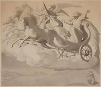 Elias in the Chariot of Fire von Johann Friedrich Overbeck