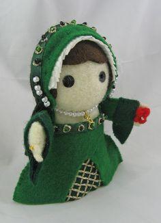DeriDolls:historical dolls and figures.  anne boleyn