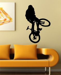 BMX Rider Version 105 Decal Sticker Bike Bicycle X Games Racing