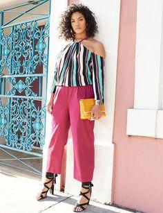 Lili Ankle Wrap Heel   Havana Days Collection   Women's Plus Size Fashion   ELOQUII