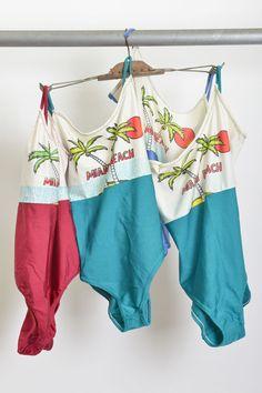 maillots / lycra / *sem uso / anos 80' / ♥ 70,
