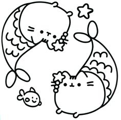 96 Best Pusheen Coloring Book Images Pusheen Coloring Pages