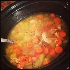 Paleo Crockpot Chicken Soup