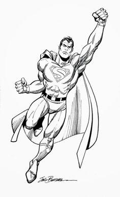 Superman by Sal Buscema, in Matthew P's Sal Buscema Comic Art Gallery Room Sal Buscema, John Buscema, Comic Books Art, Comic Art, Book Art, Dc Comics, Usa Tattoo, Comic Tattoo, Superman Man Of Steel