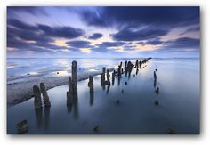 Low tide at the Wadden Sea - Bas Meelker @Blue Hour