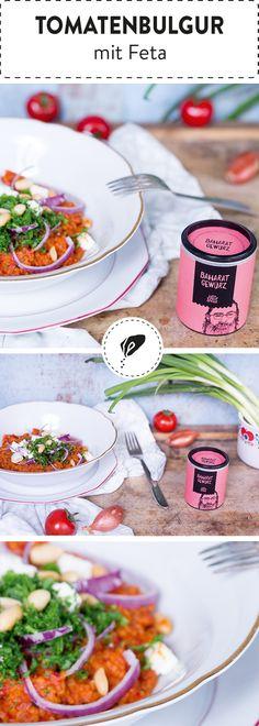 Bulgur ist nicht nur unglaublich gesund und lecker, sondern auch ratzfatz zubereitet. Mit Tomaten und Feta peppen wir den Reisersatz noch zusätzlich auf. Probier's doch mal aus!