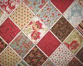 Fairy Princess Storybook Fairy Tale fabric 1 yard. $12.50, via Etsy.