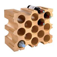 Mottez B229V Casier de bouteilles en Polystyrène: Casier bouteilles pour 15 bouteilles en polystyrène Gain de place : même volume pour un…